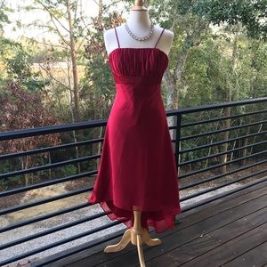 Alfred Angelo Crepe high-low cocktail dress Size 6